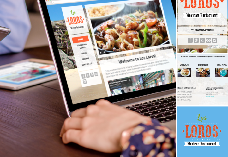 Los Loros Mexican Restaurant | Web Design | Social Media | Marketing