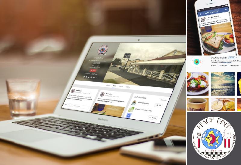 Beach Diner | Social Media | Marketing