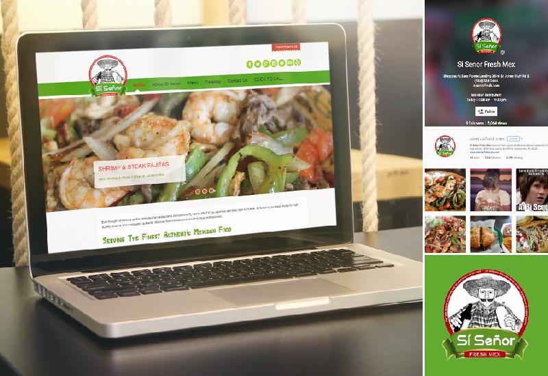 Si Senor Fresh Mex | Web Design | Social Media | Marketing